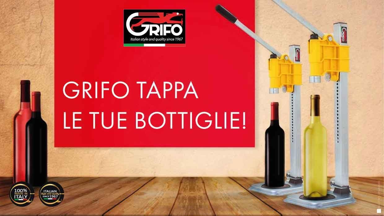 Tappatrici per i vostri vini, succhi e birre