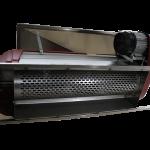 Denocciolatrice inox a motore con 2 griglie inox deni