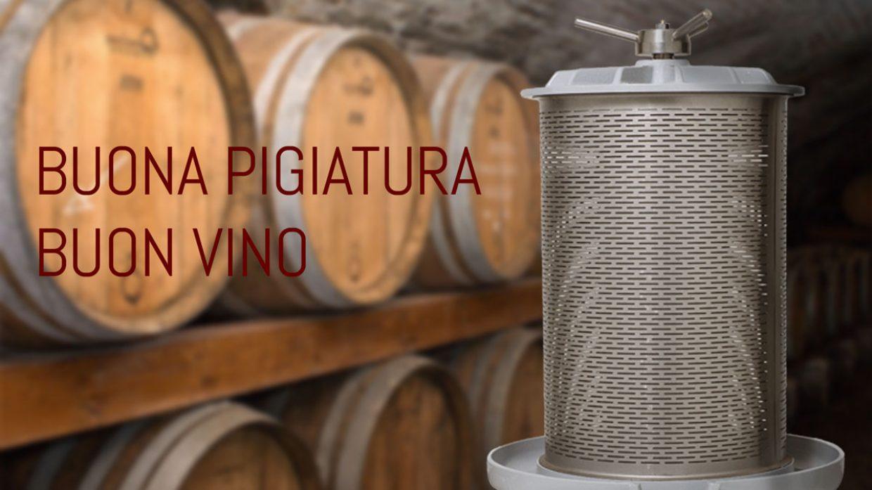 Per un buon vino bisogna partire da una buona pigiatura