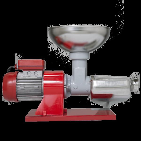 grifomarchetti spremipomodoro elettrico n 3 inox imbuto e vaschetta inox cod sp3eli 3