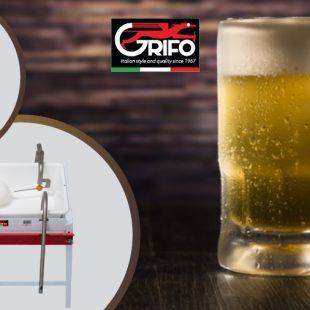 L'arte di fare la birra grazie alle EMPITRICI e TAPPATRICI di Grifo!