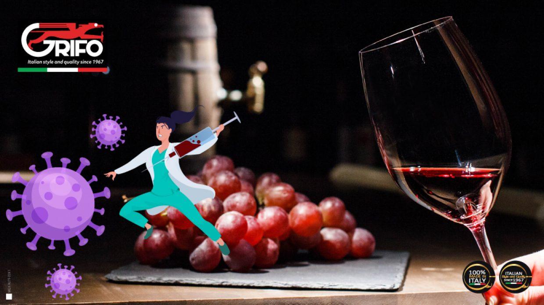 Il vino rosso contiene la cura per il COVID-19?