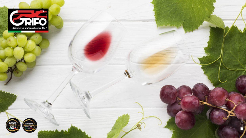 Vino rosso o vino bianco? Scoprilo con Grifo!