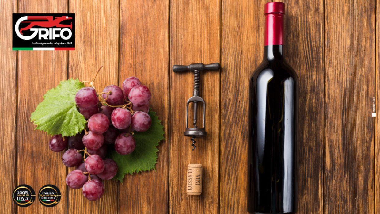 L'arte del produttore di vino.