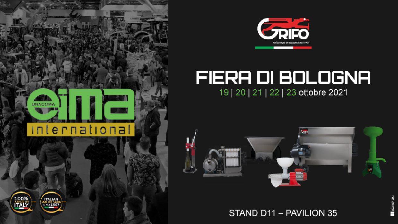 Grifo partecipa alla fiera EIMA Green 2021!